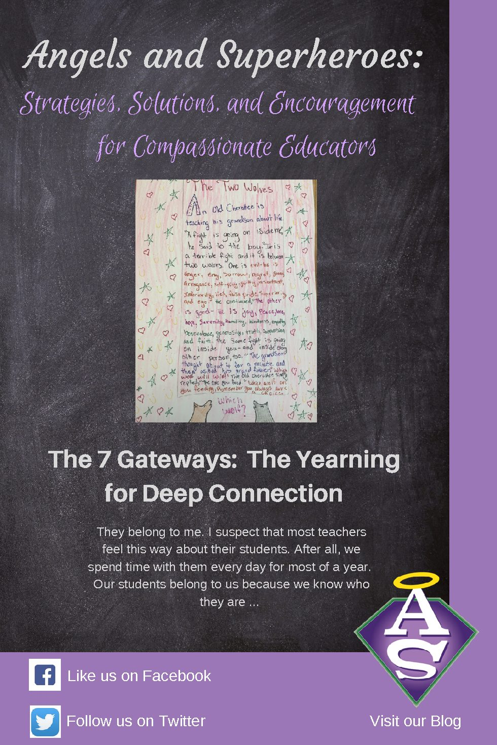 7 Gateways:Yearning for Deep Connection | Angels And Superheroes